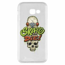 Чохол для Samsung A5 2017 Skate or die skull