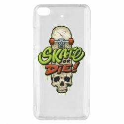 Чохол для Xiaomi Mi 5s Skate or die skull
