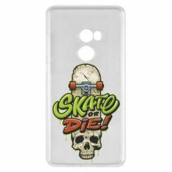 Чохол для Xiaomi Mi Mix 2 Skate or die skull