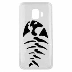 Чехол для Samsung J2 Core скелет рыбки