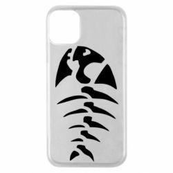 Чехол для iPhone 11 Pro скелет рыбки