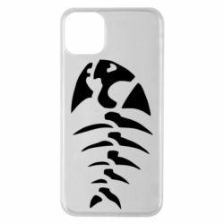 Чехол для iPhone 11 Pro Max скелет рыбки
