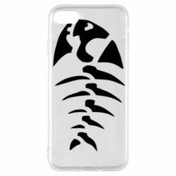 Чехол для iPhone 7 скелет рыбки