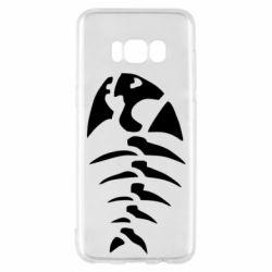 Чехол для Samsung S8 скелет рыбки