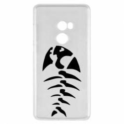Чехол для Xiaomi Mi Mix 2 скелет рыбки