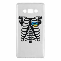 Чохол для Samsung A7 2015 Скелет з серцем Україна