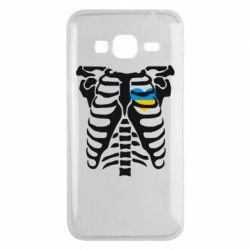 Чохол для Samsung J3 2016 Скелет з серцем Україна
