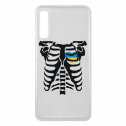 Чохол для Samsung A7 2018 Скелет з серцем Україна