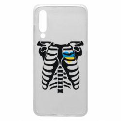 Чехол для Xiaomi Mi9 Скелет з сердцем Україна