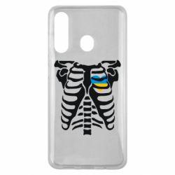 Чохол для Samsung M40 Скелет з серцем Україна