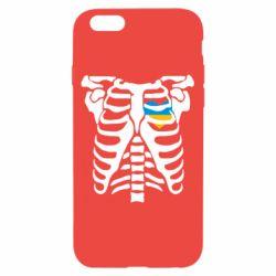 Чохол для iPhone 6/6S Скелет з серцем Україна
