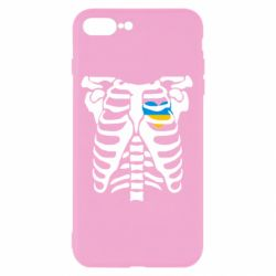 Чохол для iPhone 8 Plus Скелет з серцем Україна