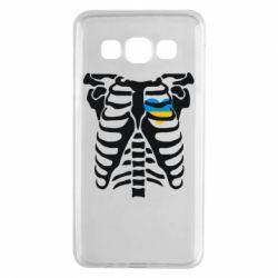 Чохол для Samsung A3 2015 Скелет з серцем Україна