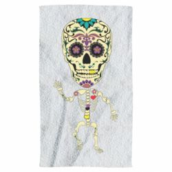Рушник Skeleton with a sugar skull