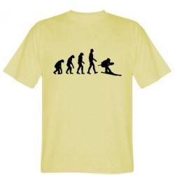 Мужская футболка Ski evolution