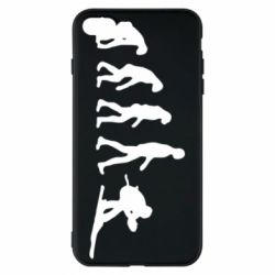 Чехол для iPhone 8 Plus Ski evolution - FatLine