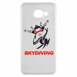 Чехол для Samsung A3 2016 Skidiving - FatLine