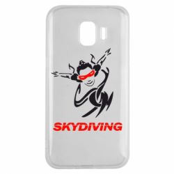 Чехол для Samsung J2 2018 Skidiving - FatLine