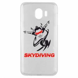Чехол для Samsung J4 Skidiving - FatLine