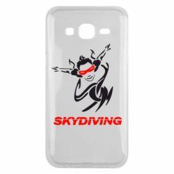 Чехол для Samsung J5 2015 Skidiving - FatLine