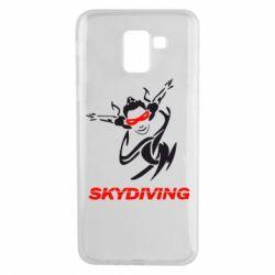 Чехол для Samsung J6 Skidiving - FatLine