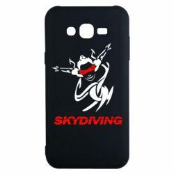 Чехол для Samsung J7 2015 Skidiving - FatLine