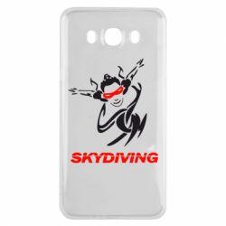 Чехол для Samsung J7 2016 Skidiving - FatLine
