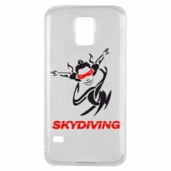 Чехол для Samsung S5 Skidiving - FatLine