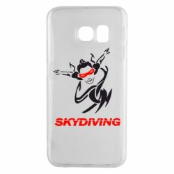 Чехол для Samsung S6 EDGE Skidiving - FatLine