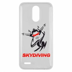Чехол для LG K10 2017 Skidiving - FatLine