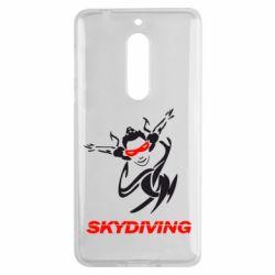 Чехол для Nokia 5 Skidiving - FatLine