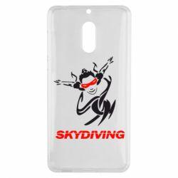 Чехол для Nokia 6 Skidiving - FatLine