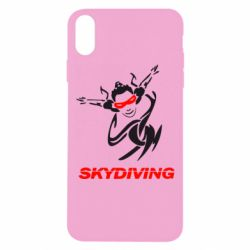 Чехол для iPhone Xs Max Skidiving - FatLine