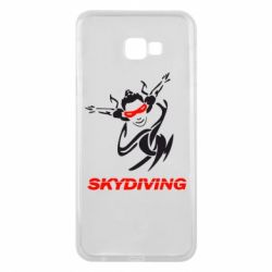 Чехол для Samsung J4 Plus 2018 Skidiving - FatLine