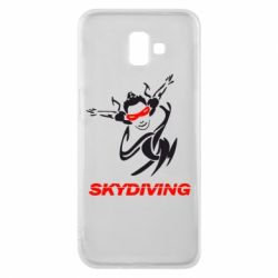 Чехол для Samsung J6 Plus 2018 Skidiving - FatLine