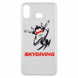 Чехол для Samsung A6s Skidiving - FatLine