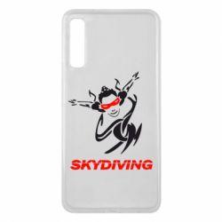 Чехол для Samsung A7 2018 Skidiving - FatLine