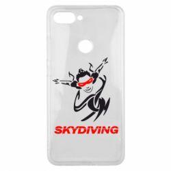 Чехол для Xiaomi Mi8 Lite Skidiving - FatLine
