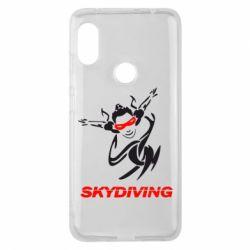 Чехол для Xiaomi Redmi Note 6 Pro Skidiving - FatLine