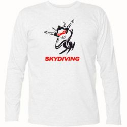 Футболка с длинным рукавом Skidiving - FatLine