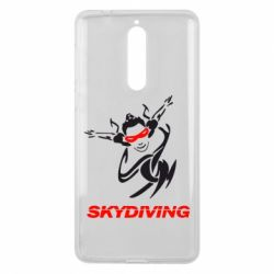 Чехол для Nokia 8 Skidiving - FatLine