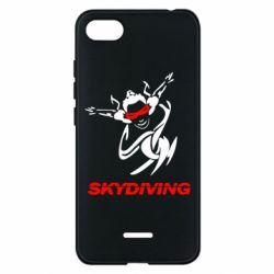 Чехол для Xiaomi Redmi 6A Skidiving - FatLine