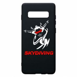 Чохол для Samsung S10+ Skidiving