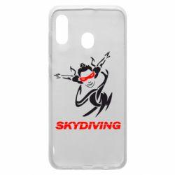 Чохол для Samsung A30 Skidiving