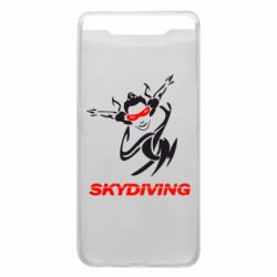 Чохол для Samsung A80 Skidiving