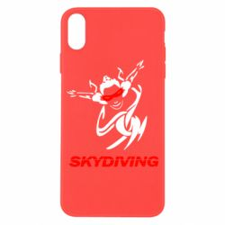 Чехол для iPhone X Skidiving - FatLine