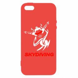 Чехол для iPhone5/5S/SE Skidiving - FatLine