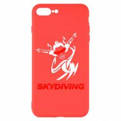 Чехол для iPhone 7 Plus Skidiving - FatLine