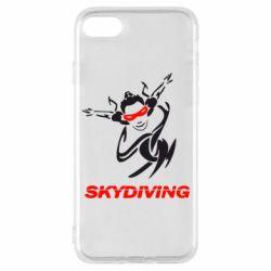 Чехол для iPhone 8 Skidiving - FatLine
