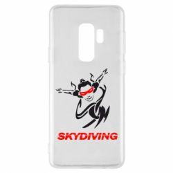 Чохол для Samsung S9+ Skidiving
